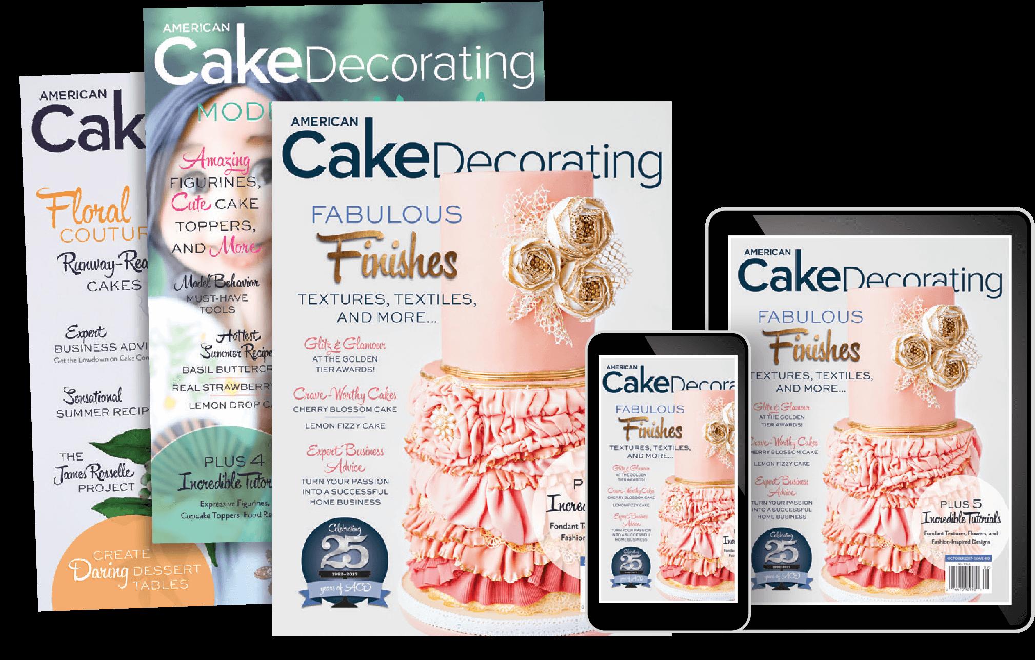 Mailbox News Cake Decorating Magazine