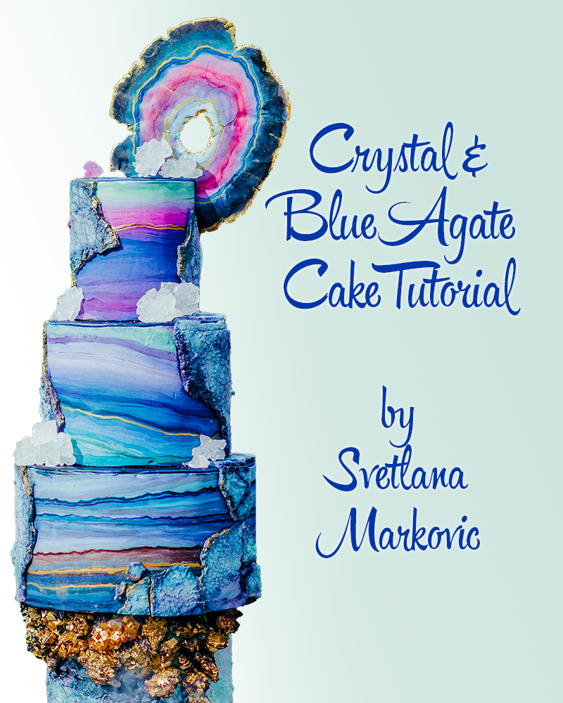 Crystal Agate Cake Tutorial