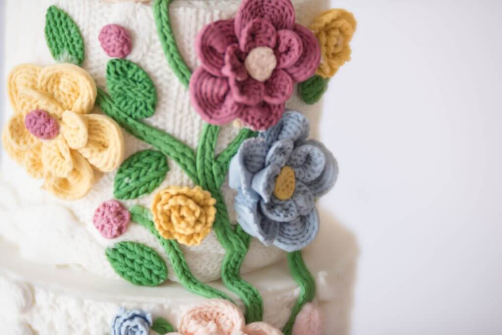 Tutorial: Knitted Flowers