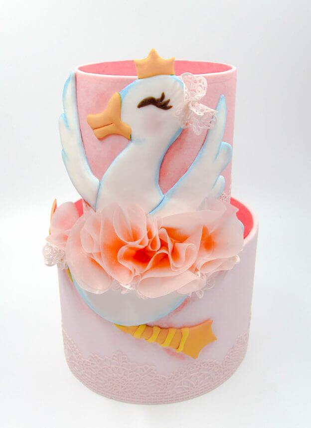 Tutorial: Dancing Goose Cake