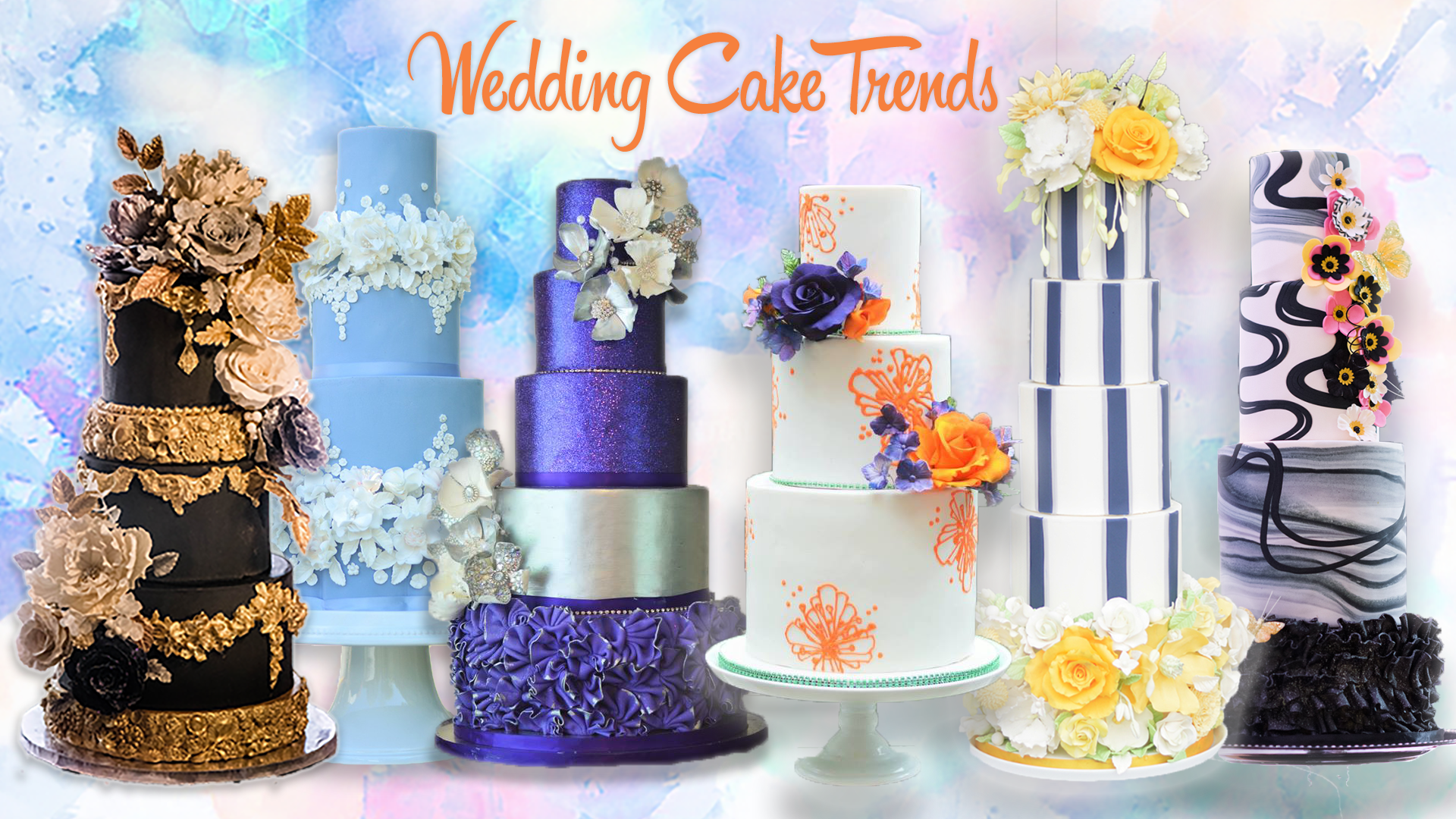 wedding cake themes 2018 wedding cake trends for 2018 26255