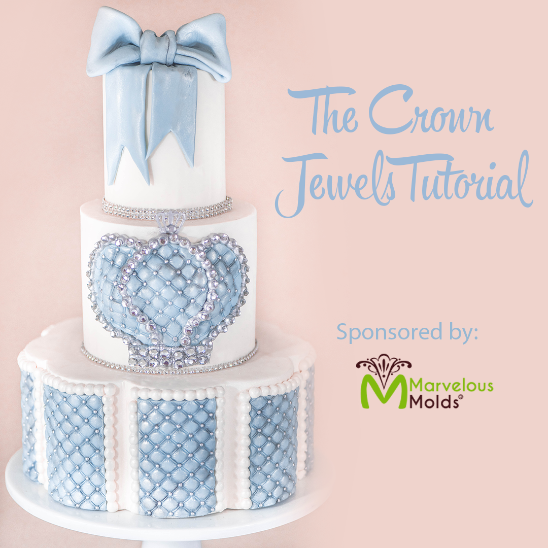 Crown Jewels Cake Tutorial