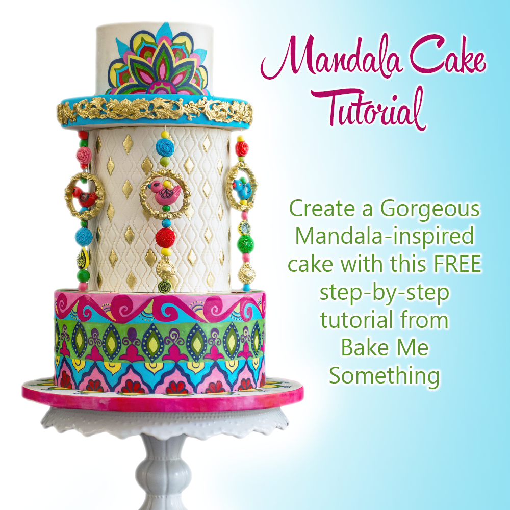 Mandala Cake Tutorial