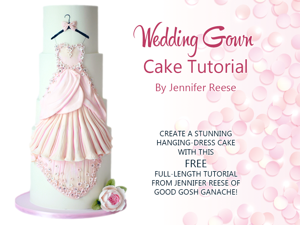 WEDDING GOWN CAKE TUTORIAL